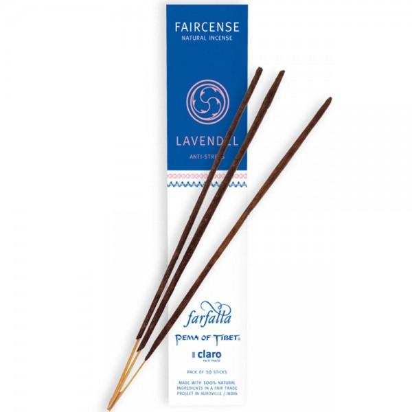 Faircense Räucherstäbchen Lavendel