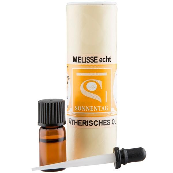 Sonnentag Melisse echt bio - ätherisches Melissenöl
