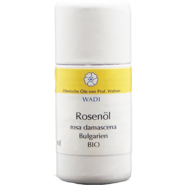 WADI Rose Destillat (Rose Otto) bio - ätherisches Rosenöl