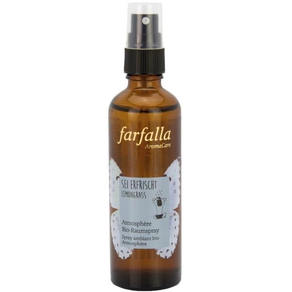 Farfalla Atmosphère Bio-Raumspray Lemongrass
