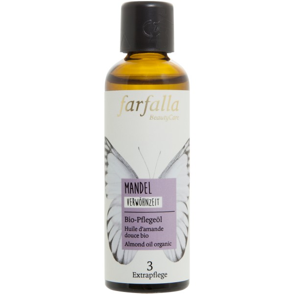Farfalla Mandel Bio-Pflegeöl Mandelöl