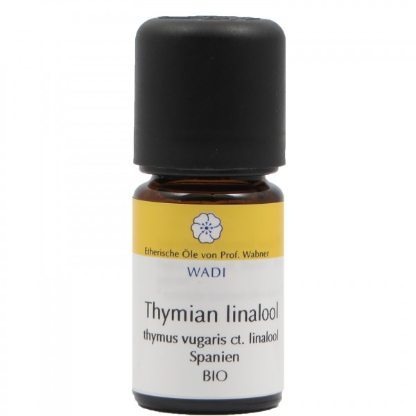 WADI Thymian linalool bio - ätherisches Thymianöl