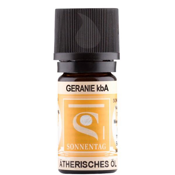 Sonnentag Geranie bio - ätherisches Geranienöl