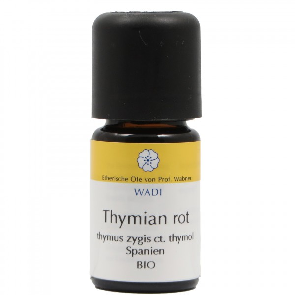 WADI Thymian rot bio - ätherisches Thymianöl