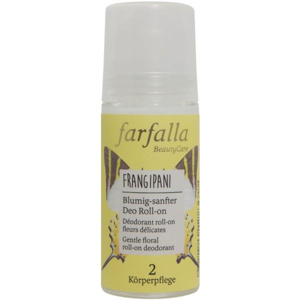 Farfalla Blumig-sanfter Deo Roll-on Frangipani