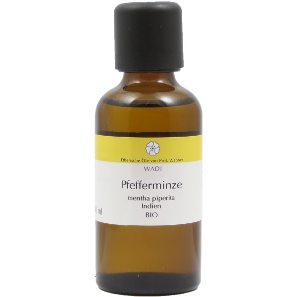 WADI Pfefferminze 50 ml bio - ätherisches Pfefferminzöl