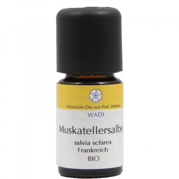 WADI Muskatellersalbei bio - ätherisches Muskatellersalbeiöl