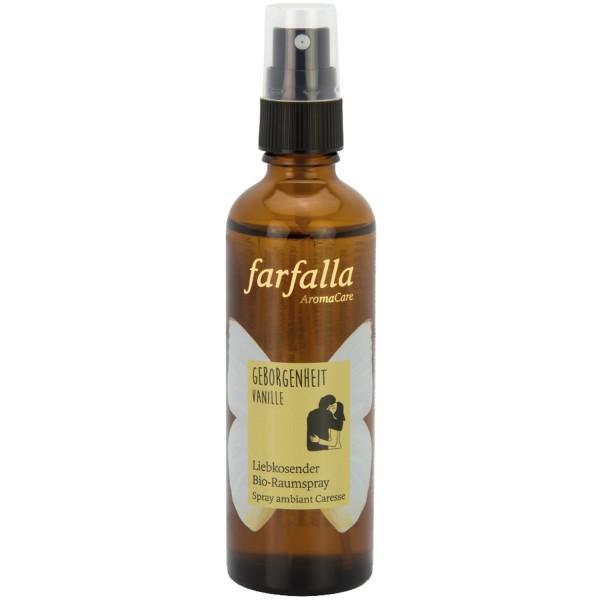 Farfalla Liebkosendes Bio-Raumspray Vanille