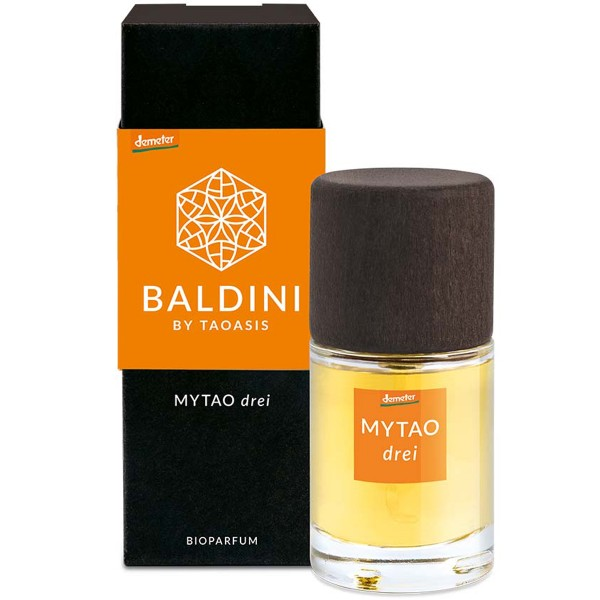 Bioparfum MYTAO drei Baldini by Taoasis