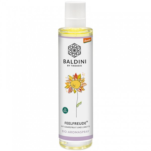 Raumspray Feelfreude bio demeter Baldini by Taoasis
