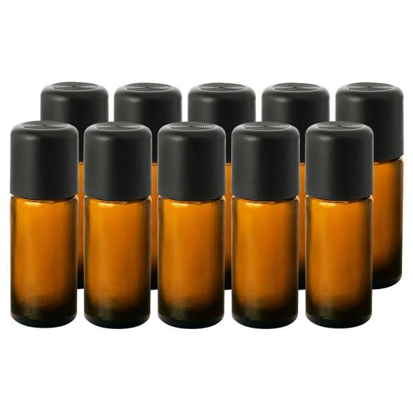 Leerflaschen-Set 10 ml, 10 Stück mit Etiketten zum Selbstbeschriften