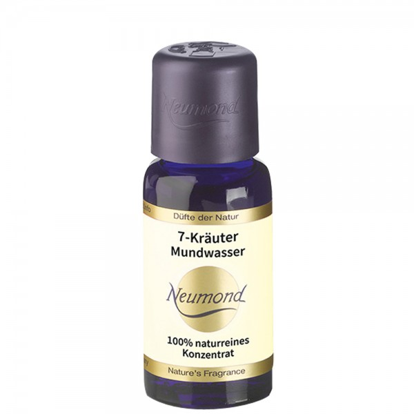 Neumond 7-Kräuter Mundwasser
