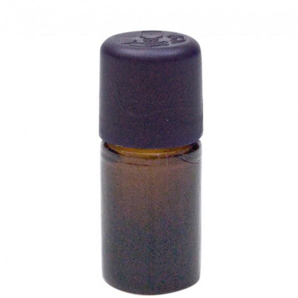 Braunglasflasche, 5 ml, leer, mit Tropfer und Kindersicherheitsverschluss