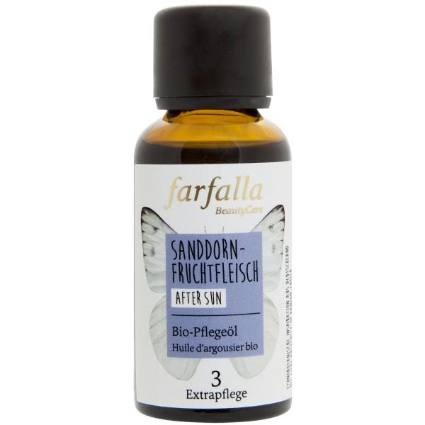 Farfalla Sanddornfruchtfleisch Bio-Pflegeöl Sanddornfruchtfleischöl