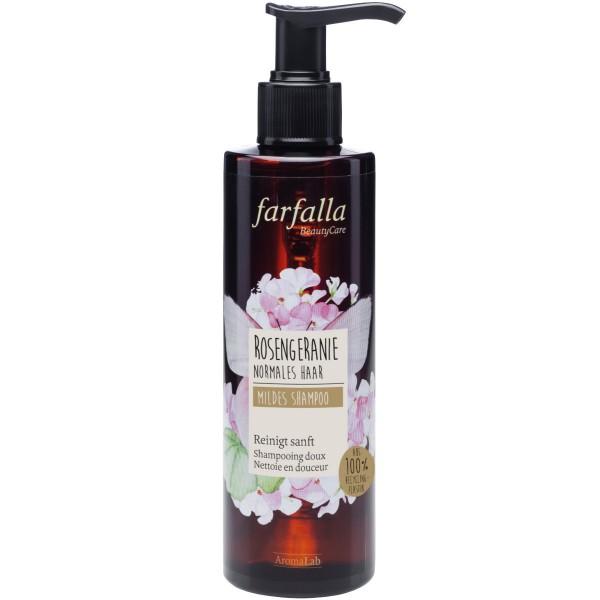 Farfalla Mildes Shampoo Rosengeranie
