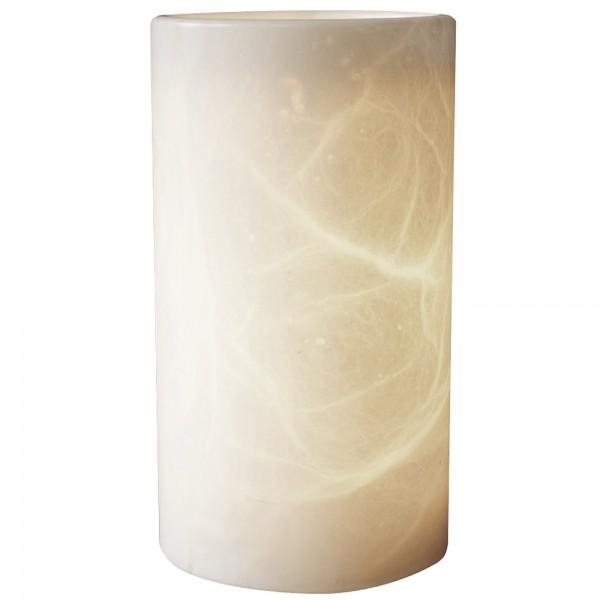 Neumond Alabaster-Duftlampe Zylinder