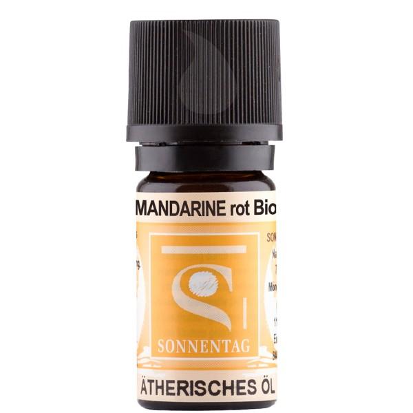 Sonnentag Mandarine rot bio - ätherisches Mandarinenöl