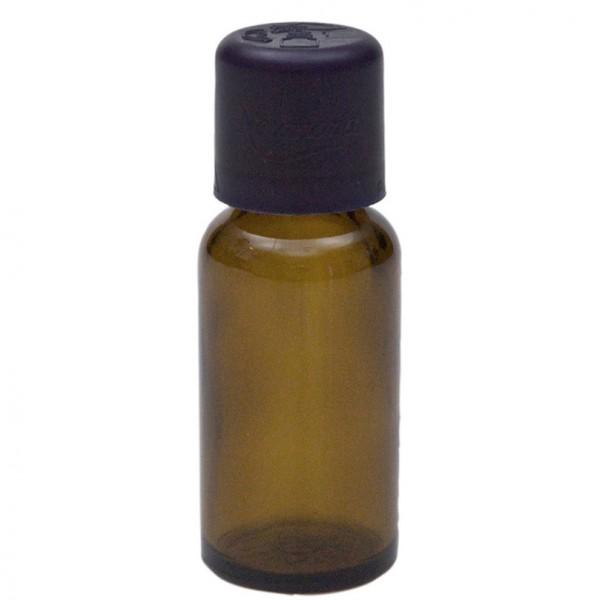 Braunglasflasche, 20 ml, mit Tropfer und Kindersicherheitsverschluss