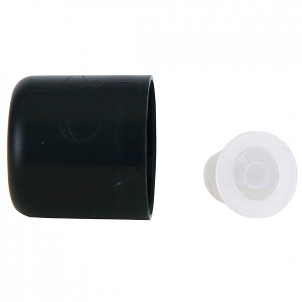 Verschluss mit Tropfer, schwarz, 6 Stück