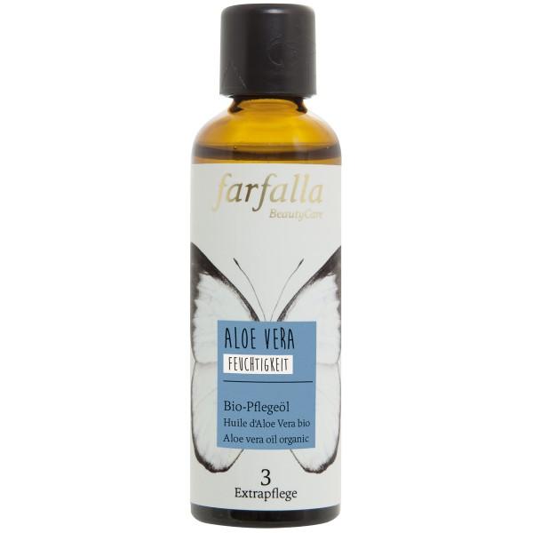 Aloe Vera, Bio-Pflegeöl, Feuchtigkeit, 75 ml