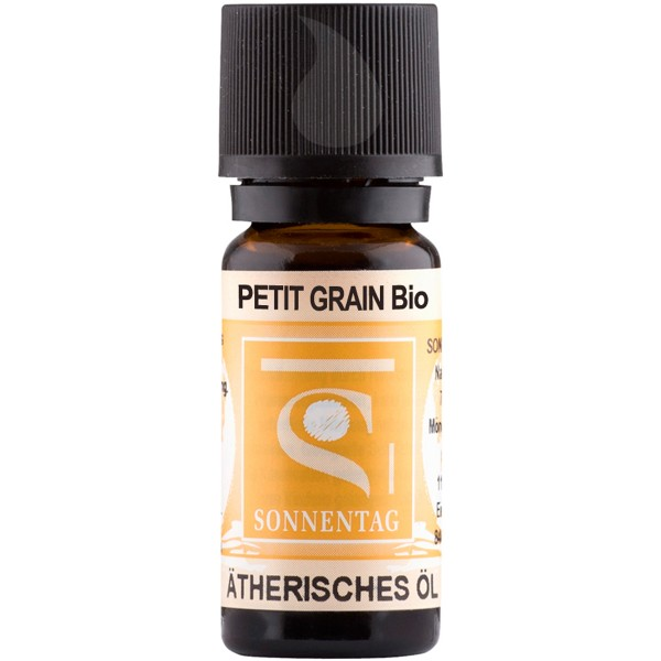 Sonnentag Petit Grain bio - ätherisches Petit-Grain-Öl