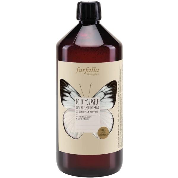 Farfalla DIY Duschgel / Schaumbad / Cocos-Schaumbasis 1 Liter