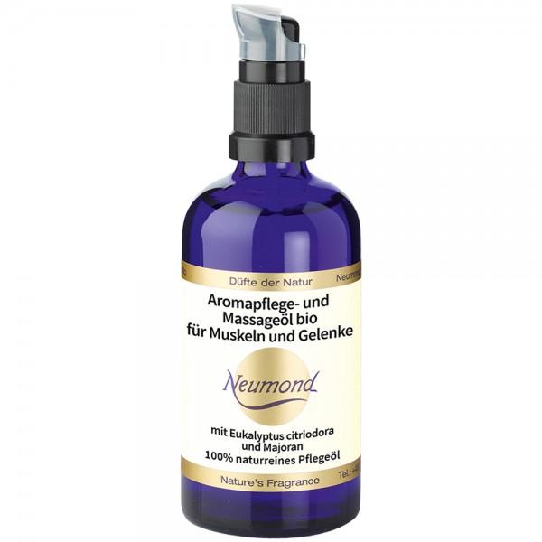 Neumond Aromapflege- und Massageöl bio für Muskeln und Gelenke
