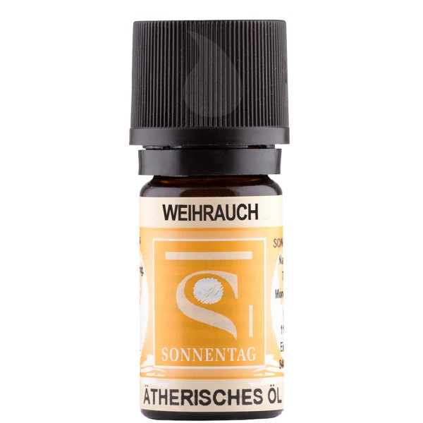 Sonnentag Weihrauch Indien bio - ätherisches Weihrauchöl