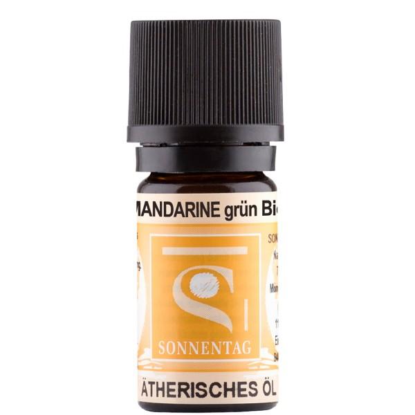 Sonnentag Mandarine grün bio - ätherisches Mandarinenöl