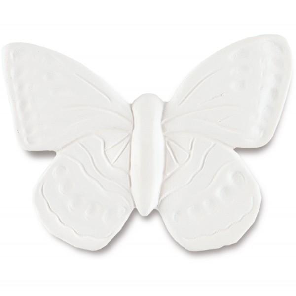 Farfalla Duftstein Schmetterling mit glasierter Unterseite